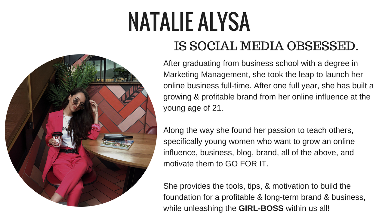 natalie alysa social media consultation